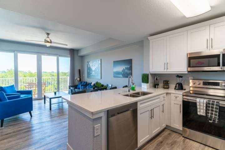 Beautiful, New Modern Townhome - Contact Free Check In!, holiday rental in Sun City Center