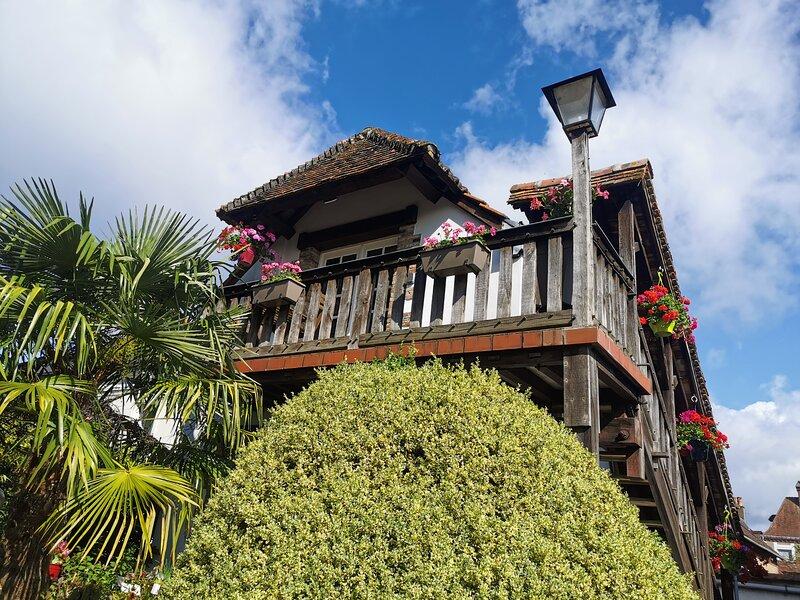 Gîte Le Balcon Flaubert, location de vacances à Montroty