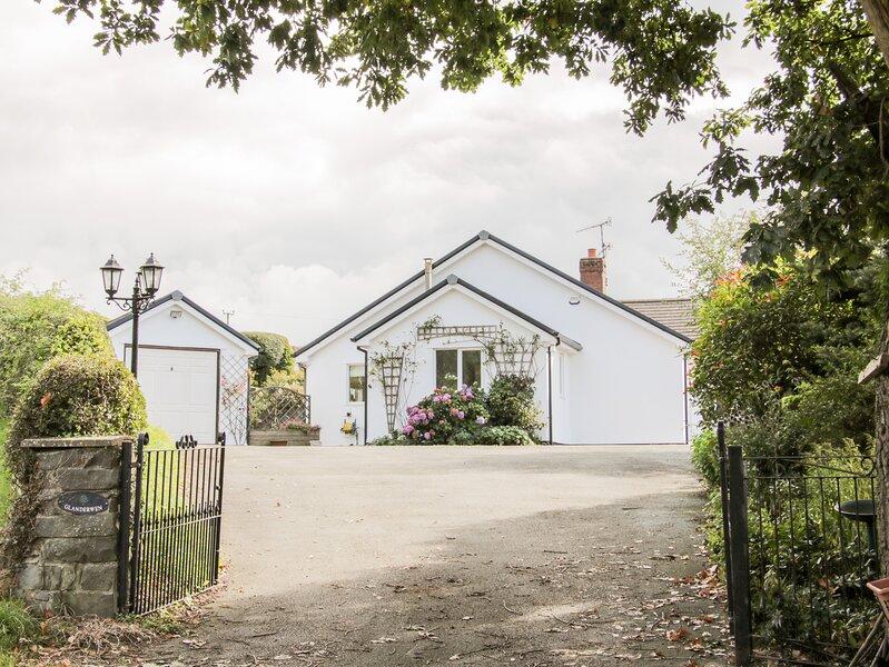 Glanderwen, Llanrhaeadr-Ym-Mochnant, casa vacanza a Llangedwyn