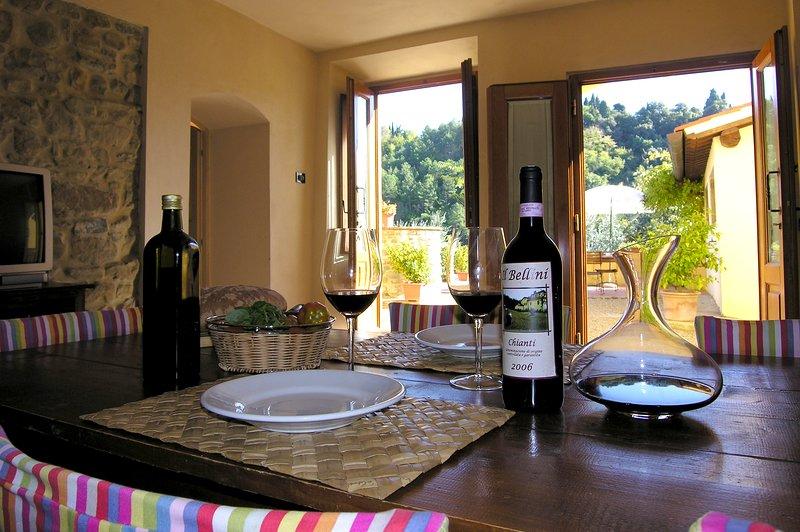Appartamento confortevole nel cuore della campagna toscana, aluguéis de temporada em La Lama