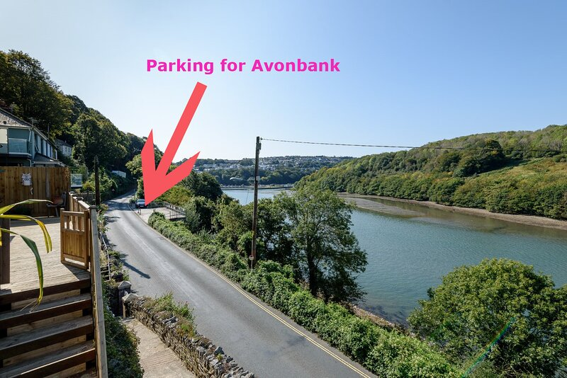Reserved parking for Avonbank - just 1 minute walk away.