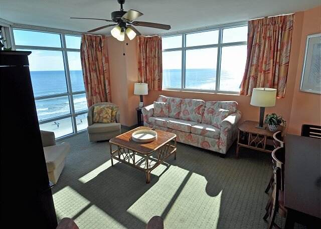 Oceanfront 3BR/3BA LOCKOUT UNIT IN PRINCE RESORT, vacation rental in North Myrtle Beach