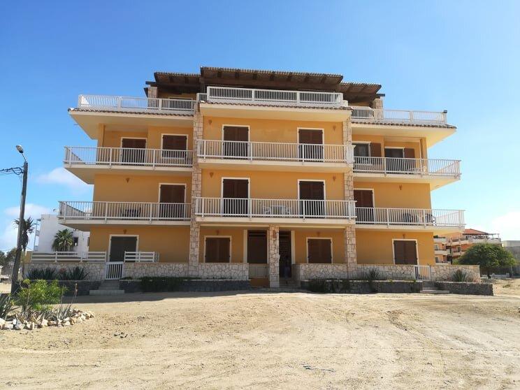 T1 Apartamento vista mar Praia Estoril, Sal Rei, Boa Vista, Cabo Verde, holiday rental in Santa Monica