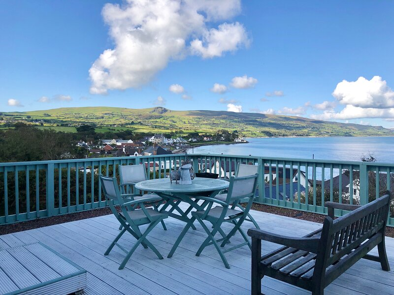 Stunning Sea view Cottage, vacation rental in Carnlough