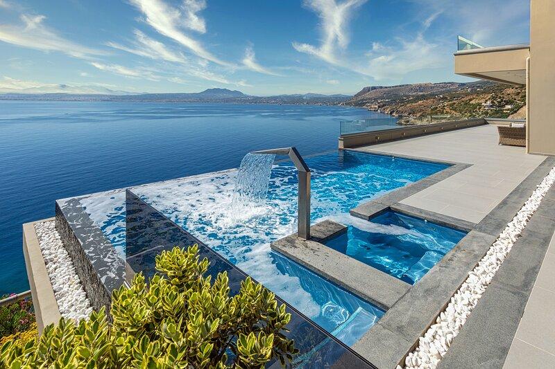Villa Amfitriti, location de vacances à Plaitis