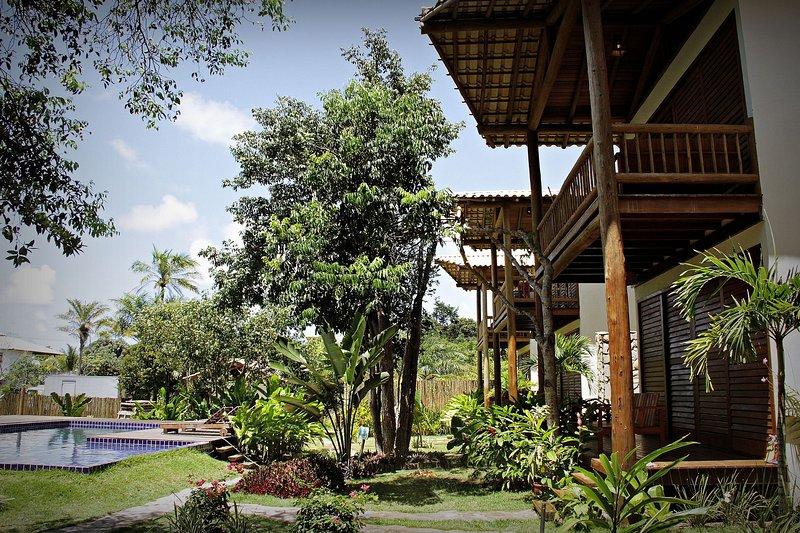 Bangalô Nature Superior – Cantinho do paraíso na Bahia, aluguéis de temporada em Ilha de Boipeba