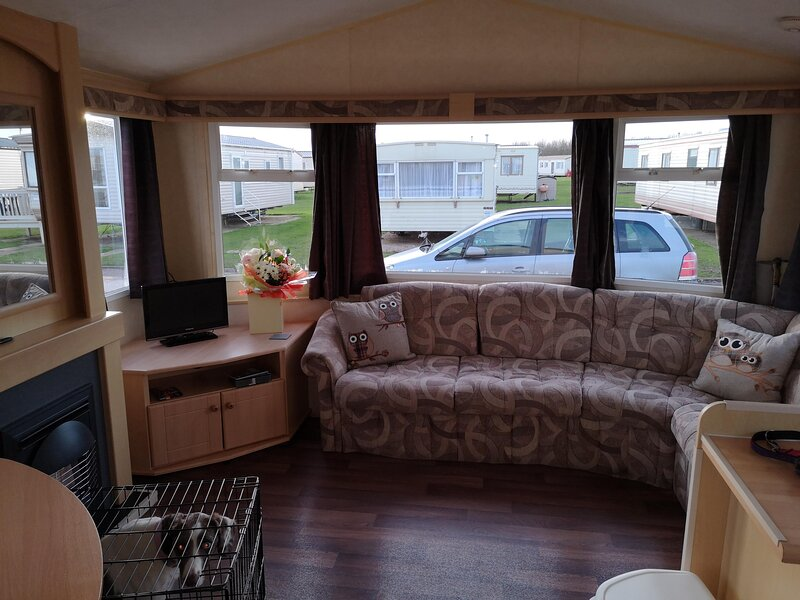 Great 6 berth caravan for hire at Skipsea Sands Holiday Park ref 41036NF, holiday rental in Barmston