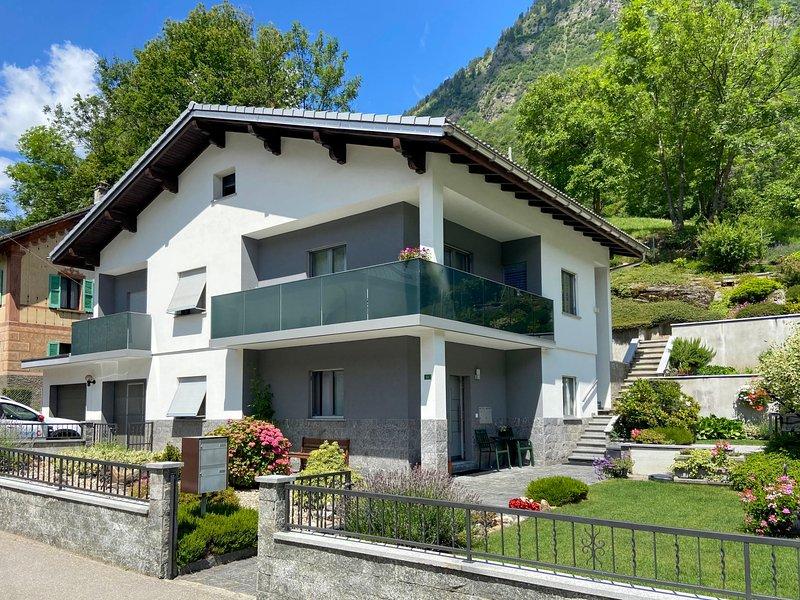 Casa Alpina, alquiler de vacaciones en Olivone