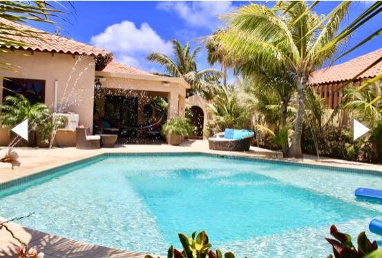 Aruba Private Escape with inviting & modern pool walking distance to the beach!, alquiler de vacaciones en Aruba