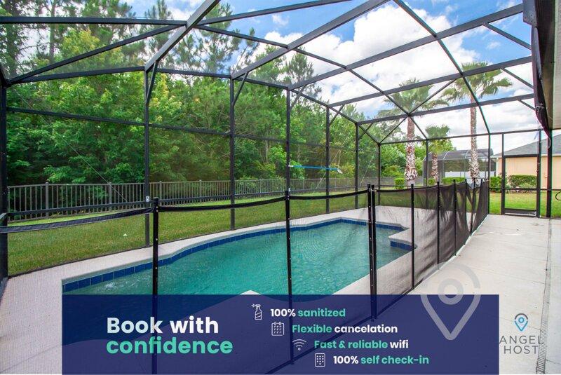 Lovely Home With Private Pool Near Disney World, aluguéis de temporada em Intercession City