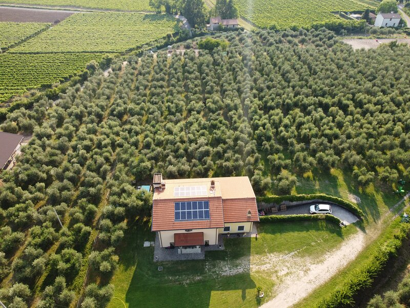 Casa Vacanza ( Ferienhaus) I Roccoli Bardolino, alquiler vacacional en Cisano