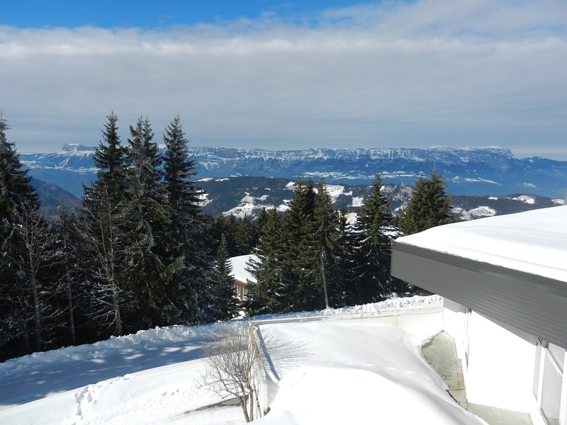 Amazing apartment with shared pool, holiday rental in Arvillard