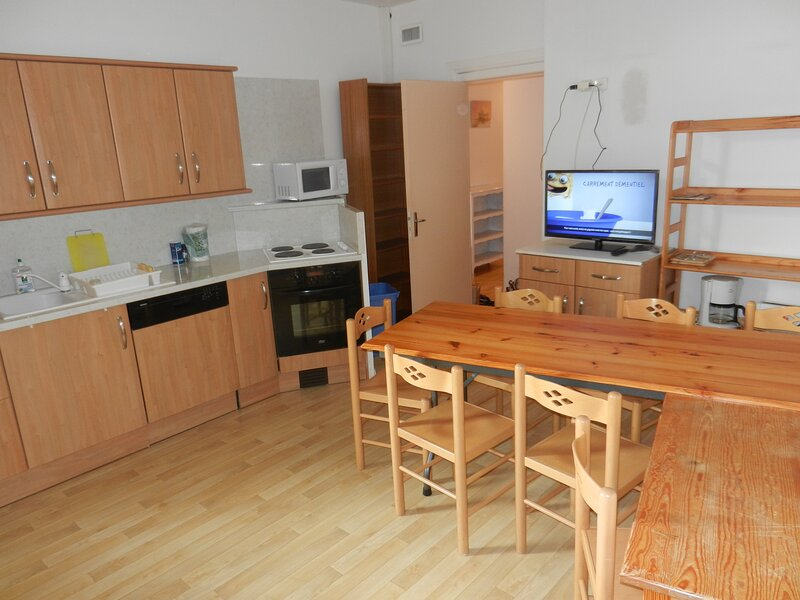 Amazing apartment with shared pool, alquiler vacacional en Crets en Belledonne