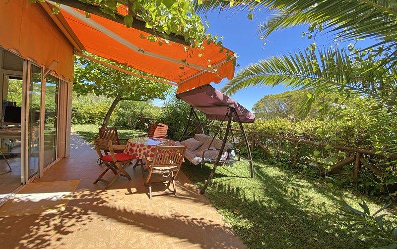 GRAN TERRAZA-JARDIN, MAGNÍFICAS VISTAS, naturaleza y playa,  inigualable., holiday rental in Cartaya