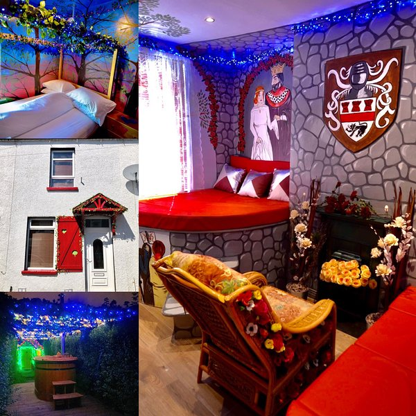 Becfola,s romantic Irish fairytale, escapism world of love., holiday rental in Holywood