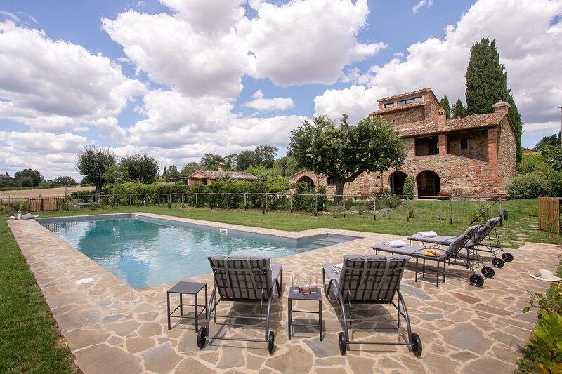 Villa Ancano, alquiler de vacaciones en Lucignano