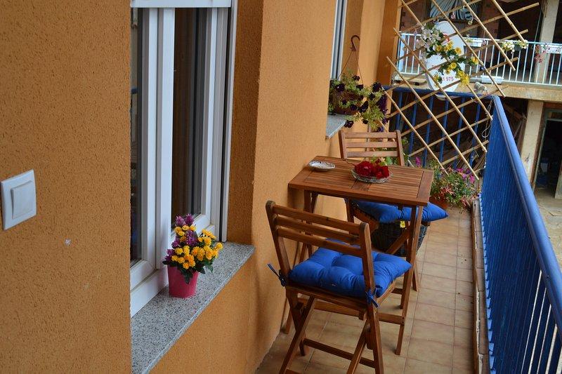 Big house with garden & balcony, alquiler de vacaciones en La Bañeza
