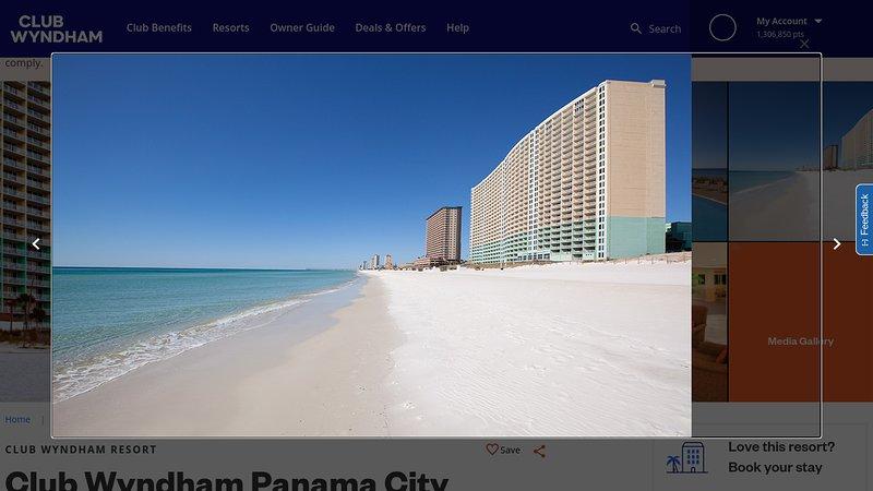 PRIVATE VIP BEACH VIEW, & PRESIDENTIAL SUITES, PANAMA CITY BEACH BEST RESORT, holiday rental in Panama City Beach
