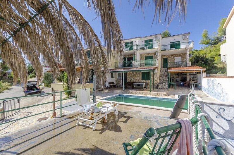 Rina - with pool : SA1(2) - Stomorska, casa vacanza a Stomorska