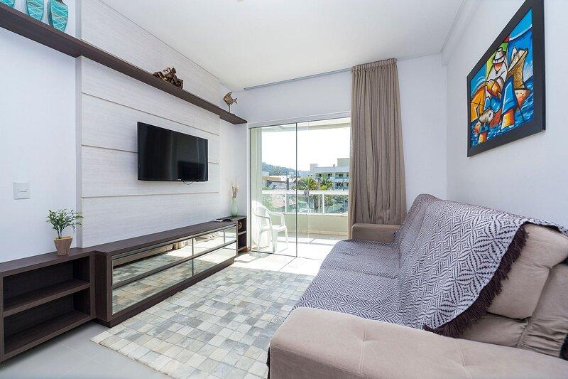 Aluguel Apartamento 2 quartos com 1 suíte Centro Bombinhas SC, location de vacances à Bombas