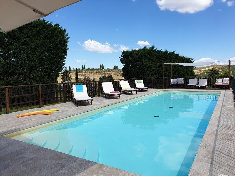 Crete Senesi View, holiday rental in Serre di Rapolano