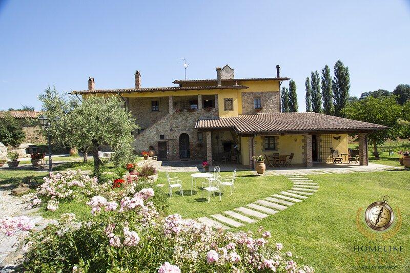 Villa la Meridiana, vacation rental in Trestina