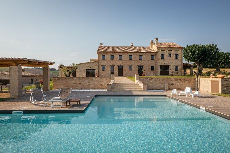 Villa Valeria, vacation rental in Polverigi