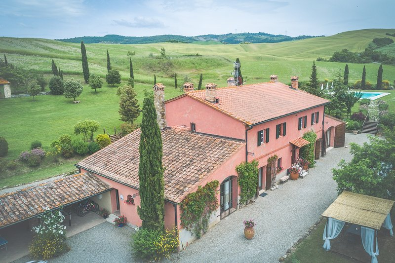Villa D'Orcia, holiday rental in Gallina