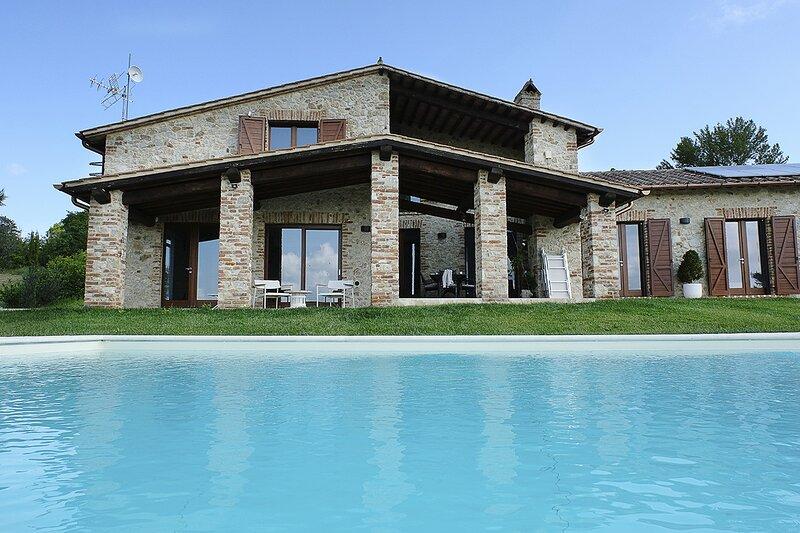 Villa l'Essenza, holiday rental in Collelungo