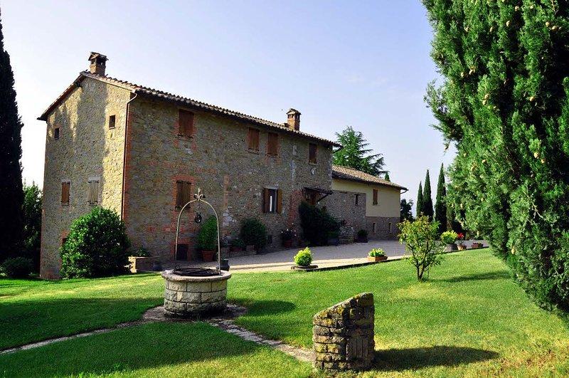 Villa dei Cipressi, vacation rental in Agello