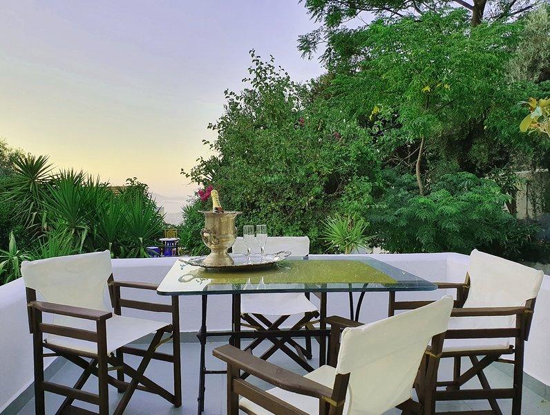 Orea Ellas - Apollon Studio | Meerblick / Sea View, holiday rental in Zipari