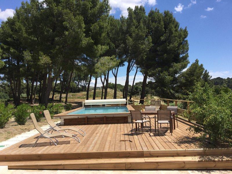 LS1-314 MARCA - Agréable mas typiquement provençal à Maussane-les-Alpilles, location de vacances à Maussane-les-Alpilles
