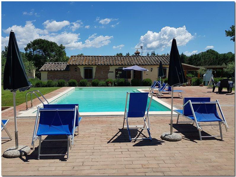 Villino Cortona, holiday rental in Appalto