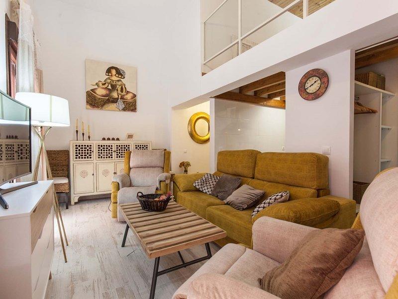 Loft / Duplex with charm historic center. WIFI, location de vacances à Las Navas de la Concepcion