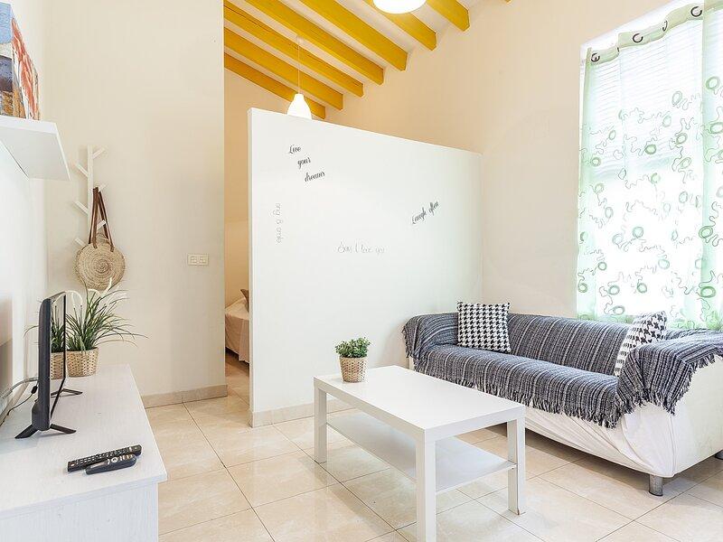Central and cozy apartment.2px.A / C & WIFI!, holiday rental in San Jose de La Rinconada
