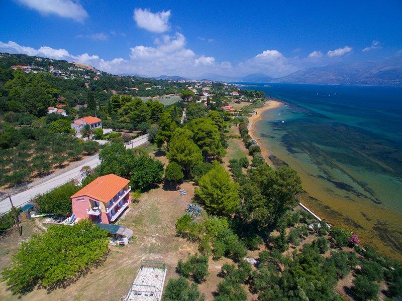 villa ostria, vacation rental in Mantzavinata