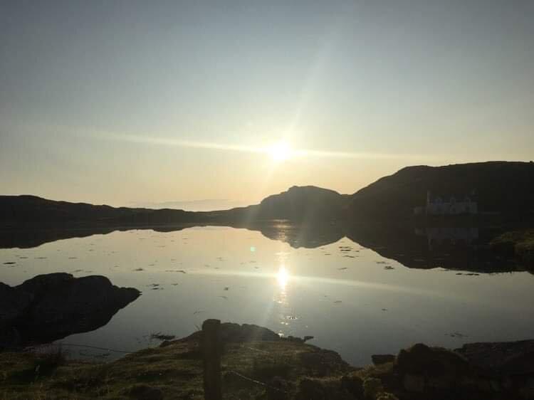 Loch view Caravan, casa vacanza a Seilebost