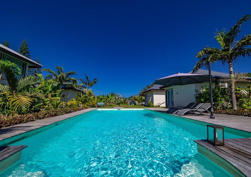 Poé Côté Lagon, Beach Bungalows, casa vacanza a Nuova Caledonia