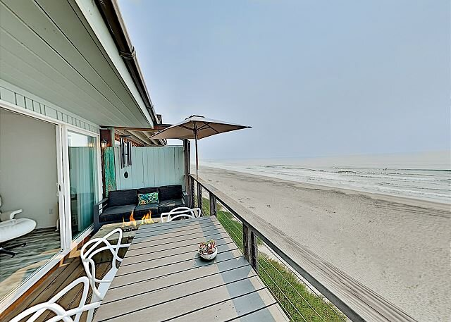 Mer De Calladonn | Ocean-View Oasis | Direct Beach Access & Private Balcony, location de vacances à La Selva Beach