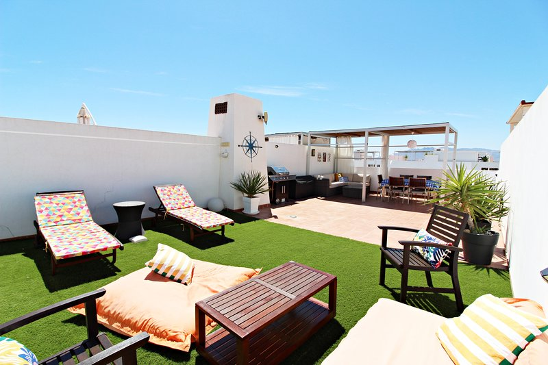 Alborada 318 - 150m playa, WiFi, terraza-solárium, alquiler vacacional en Playas de Vera