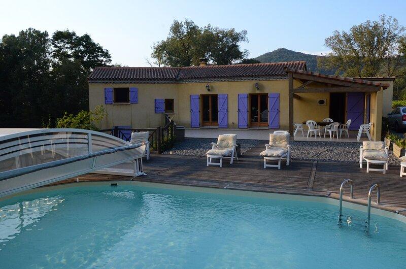 Amazing villa with swimming-pool, holiday rental in La Mole