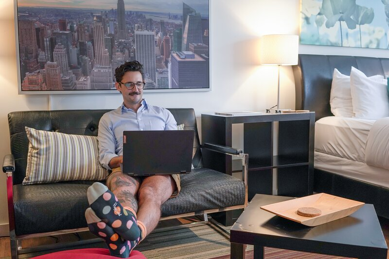 A Comfortable Place to Work from Home - Short Term Housing - Studios on 25th