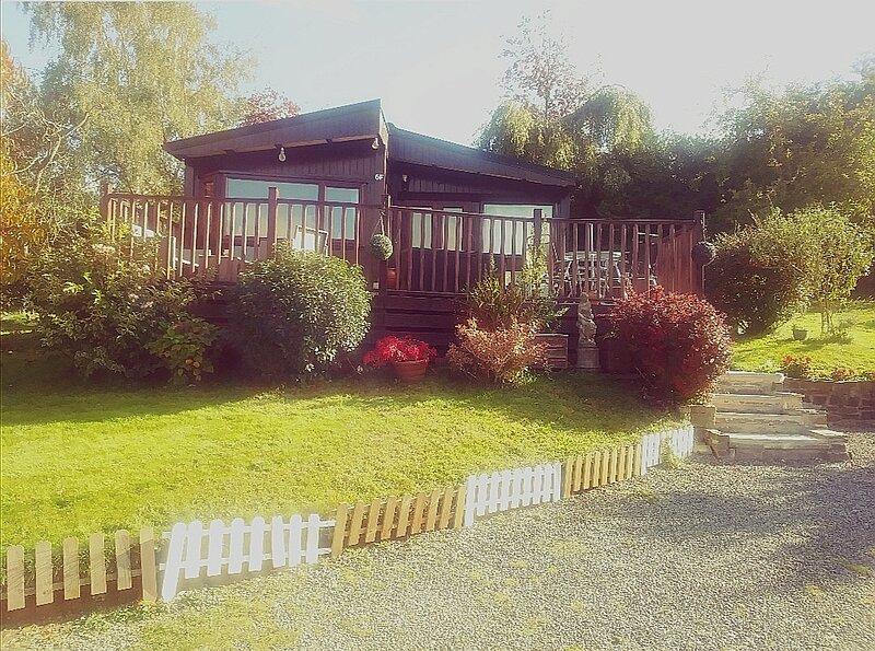 Anne's Lodge, location de vacances à Gwenddwr