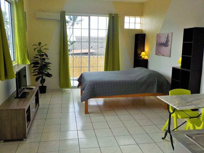 Apartment studio Halfon, vacation rental in Maharepa