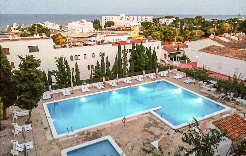 Beautiful apartment in Alcossebre with Outdoor swimming pool and 1 Bedrooms (EBA, holiday rental in Alcala de Xivert