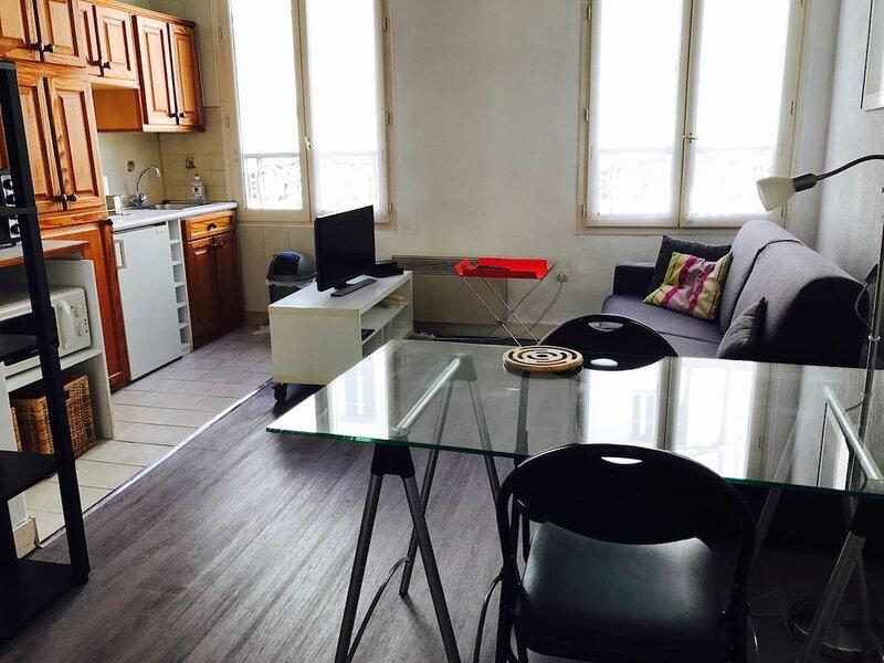 Paris - Oberkampf studio - (Bail Mobilité), vacation rental in Paris