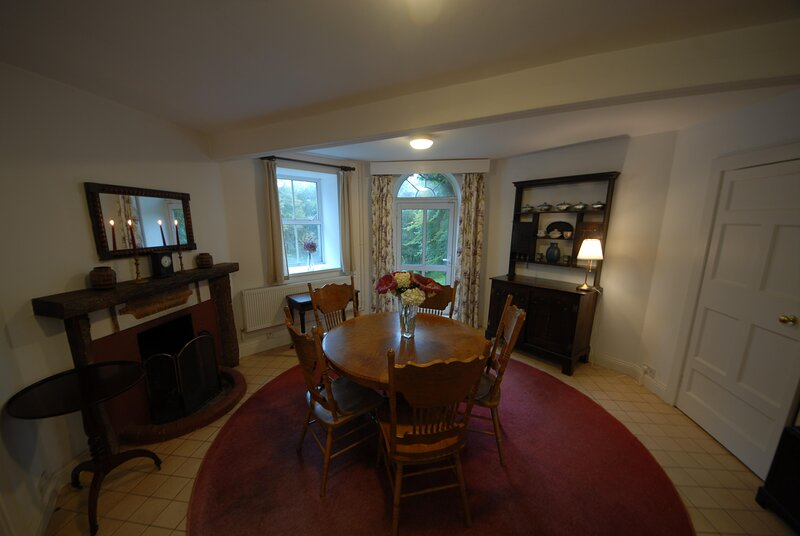 Glenbeg Tower: woodland family house: extensive walks in the grounds and views., holiday rental in Rathmullan