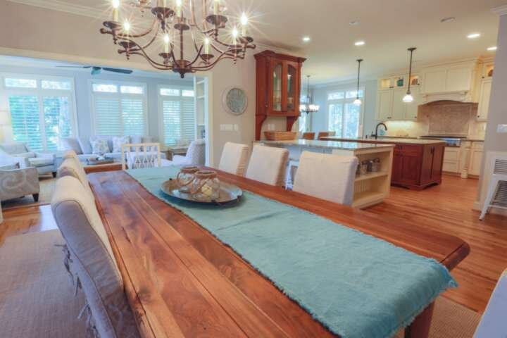 Sunny Side Up is a beautifully renovated Wild Dunes home with an open, airy floor plan.