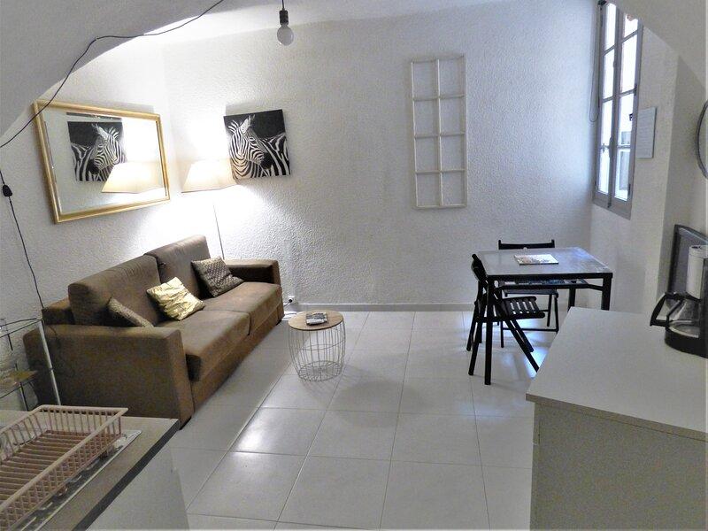 T1-20m2+garage optionnel-Centre historique & 25 min plages, holiday rental in Tourbes