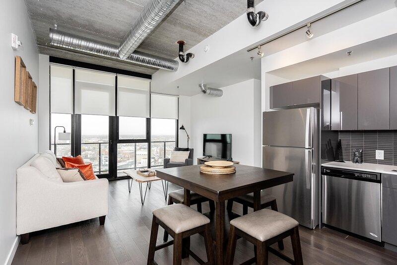 Penthouse | 20th Flr| Downtown + Parking – semesterbostad i Winnipeg